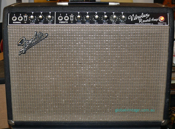 ~SOLD~Fender U.S.A. Vibralux. Blackface era Circa 1967